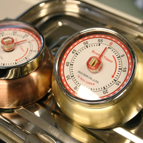 KITCHEN TIMER NICKEL