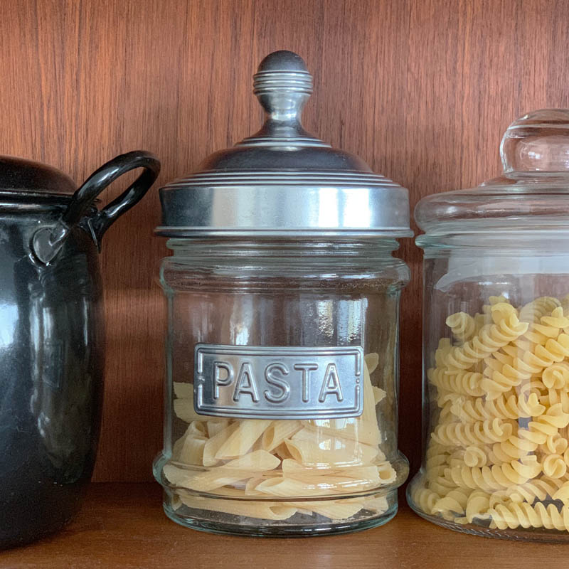 GLASS CANISTER PASTA