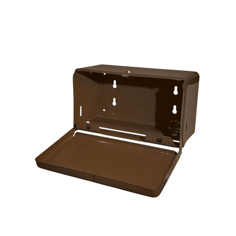 TISSUE DISPENSER BROWN