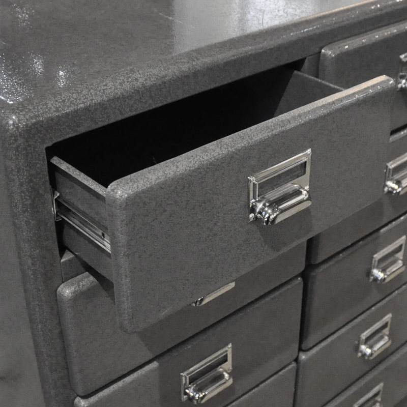 3 COLUMNS 5 DRAWERS GRY