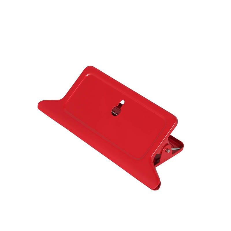 METAL BIG CLIP RED