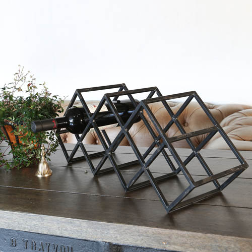 "METAL WINE RACK ""SOAVE"""