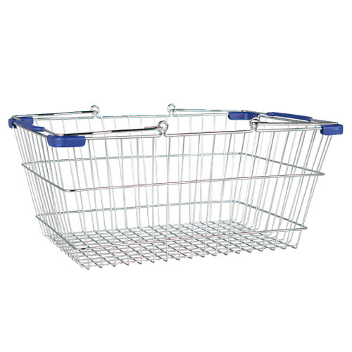 MARKET BASKET-L (CHROME/BLUE)