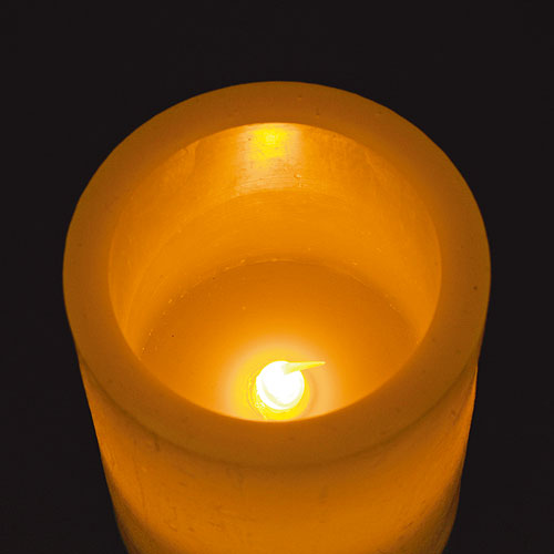 L.E.D DIM CANDLE  XL