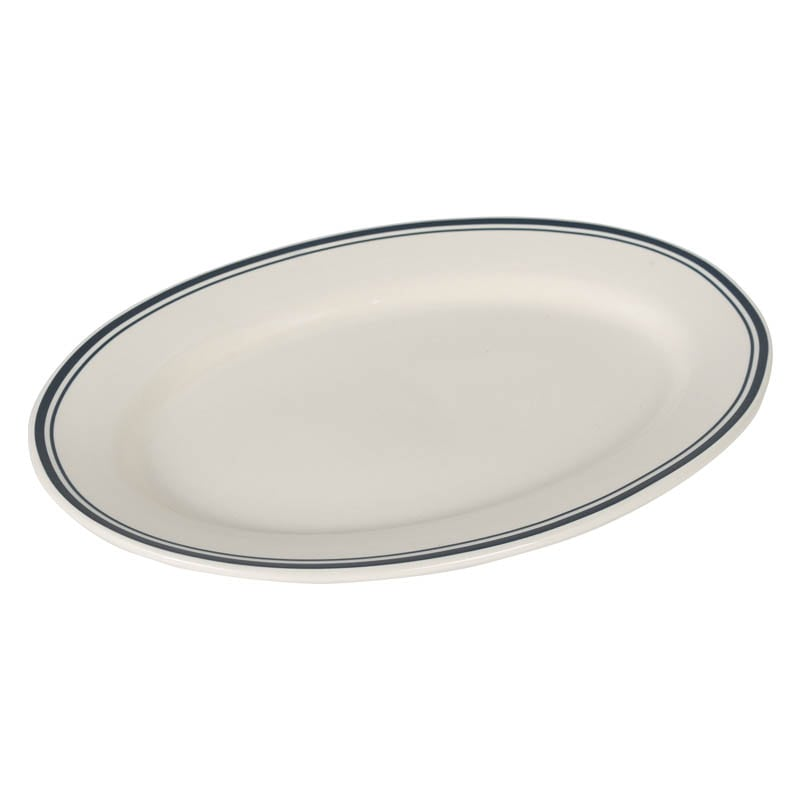 DEEPCREAM OVAL PLATE M DOCK