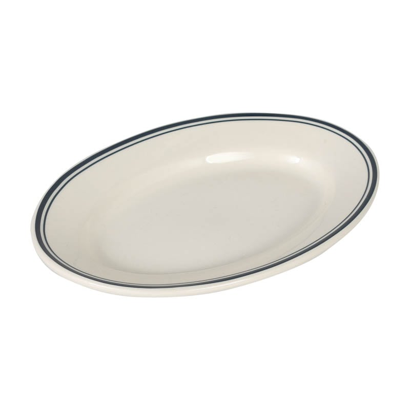 DEEPCREAM OVAL PLATE S DOCK