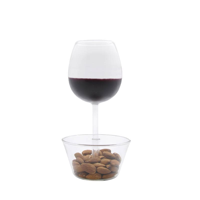 "WINE GLASS ""NUTS BOWL"""