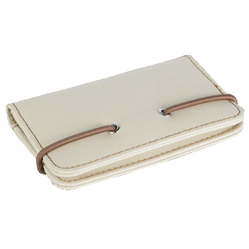 CARD CASE ''NOXIE''  IVORY
