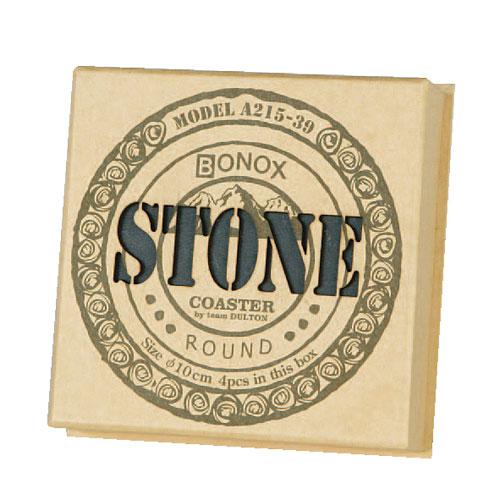 STONE COASTER ''ROUND'' 4pcs/set