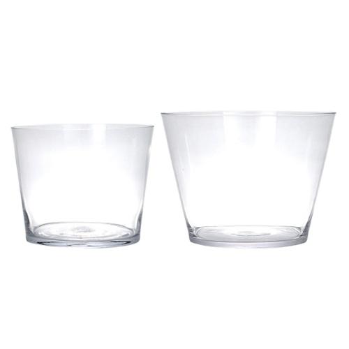 GLASS VASE CUBO S