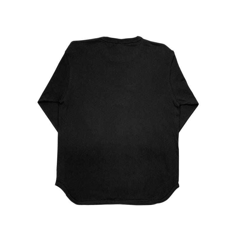 RHINO BASEBALL SHIRTS BLACK M