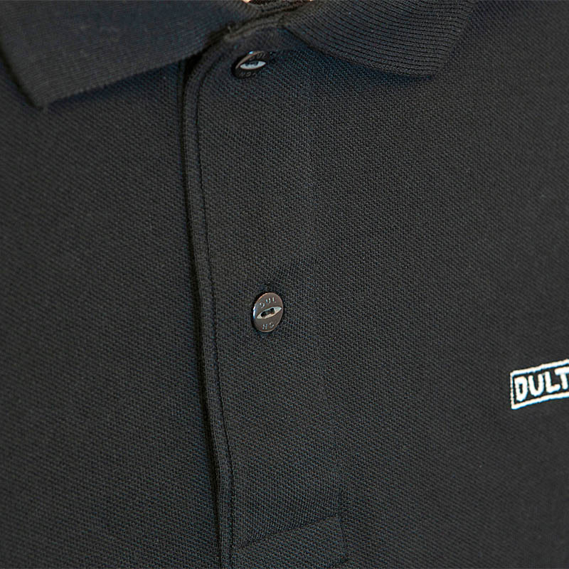 DULTON 30th-Aniv POLO-SHIRTS BLACK S