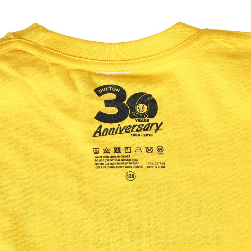 DULTON 30th-Anniversary T-SHIRTS YL 100
