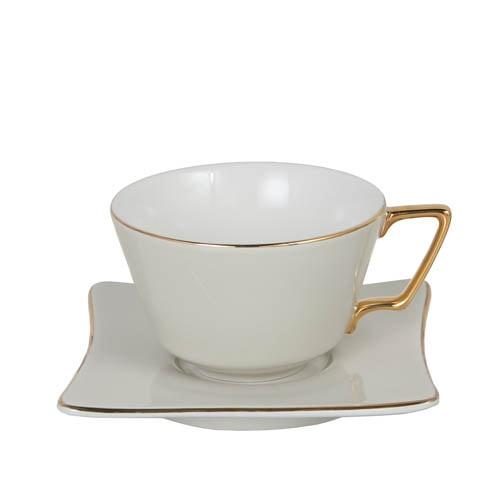 CUP & SAUCER Numelo 3 IVR