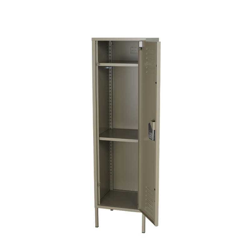 STEEL LOCKER   MOSS GRAY
