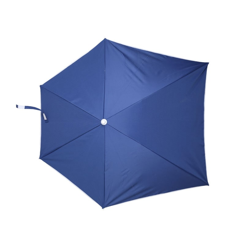 CLAMP BEACH UMBRELLA BLUE