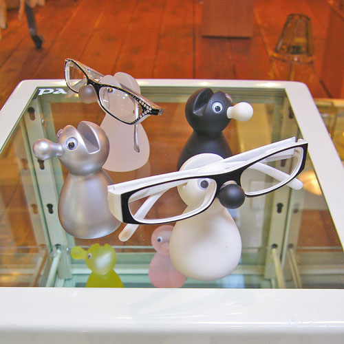 EYEGLASSES HOLDER BLACK