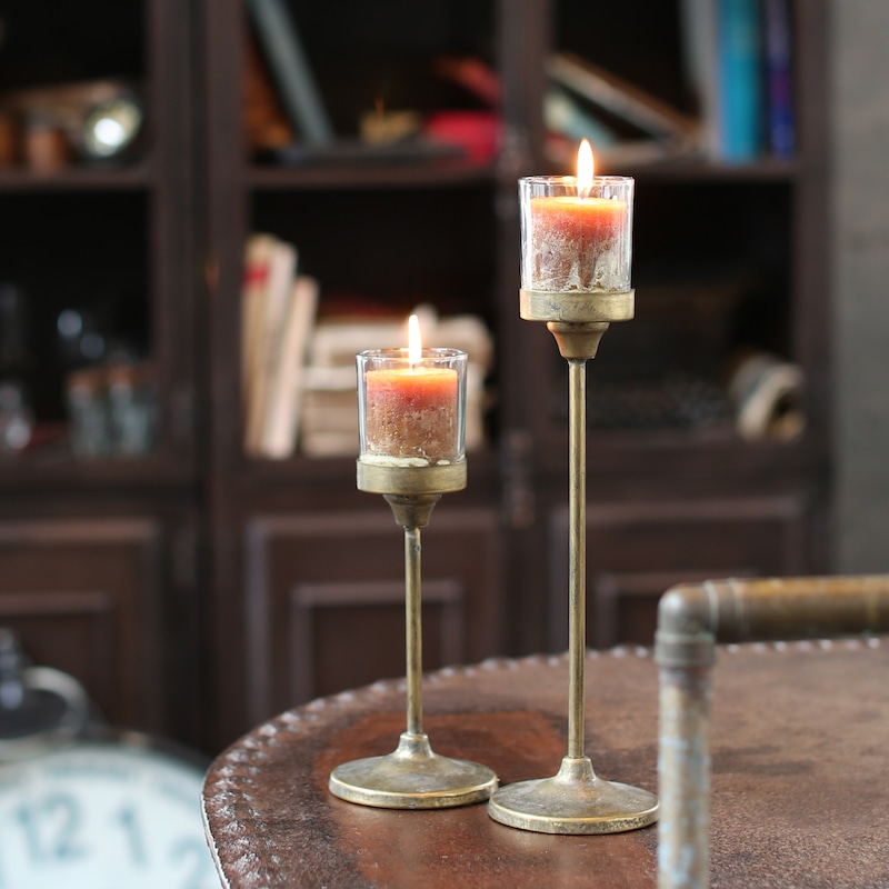 IRON CANDLE STAND S