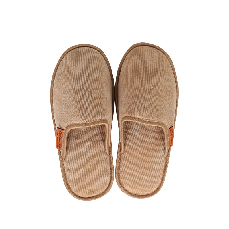 CORDUROY SLIPPERS WOMEN_MUSTARD