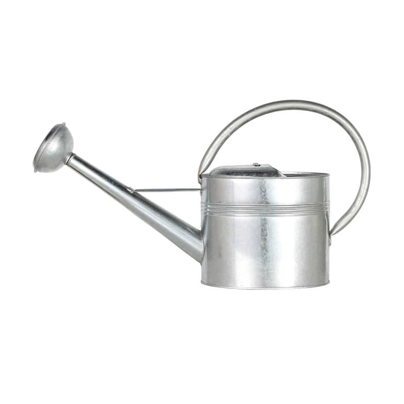GALVANIZED OVAL WATERING CAN 4L