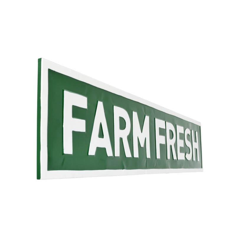 """SIGNBOARD L """"FARM FRESH"""""""