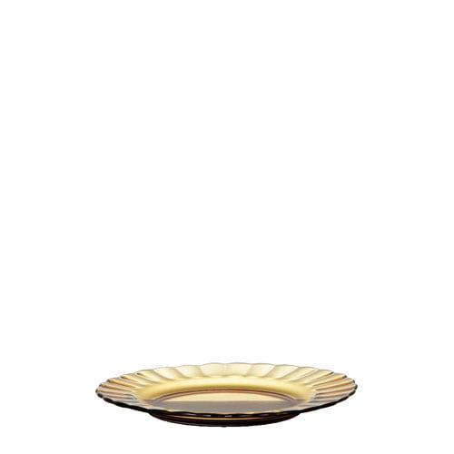 DESSERT PLATE AMBER