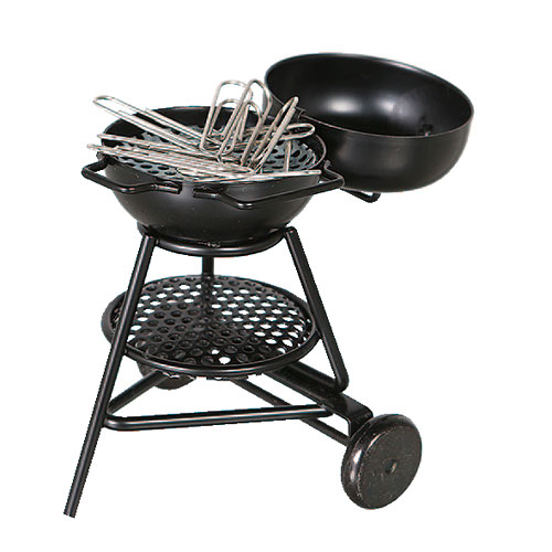 CLIP COLLECTOR BBQ GRILL
