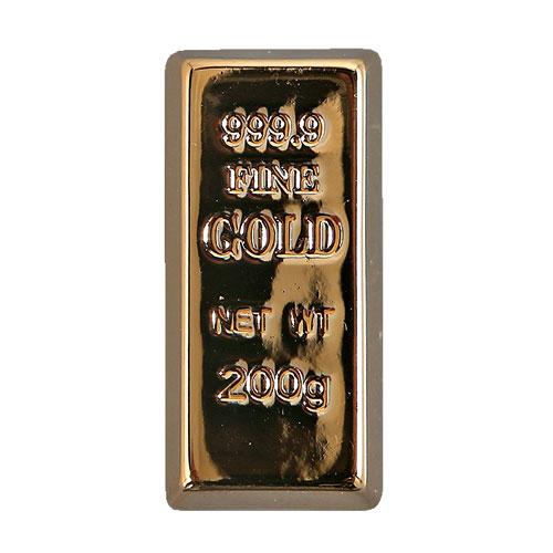 GOLD INGOT MAGNET SET OF 3