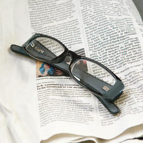 READING GLASSES GRAY 2.5