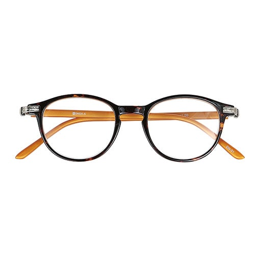 READING GLASSES BROWN/YELLOW 2.5