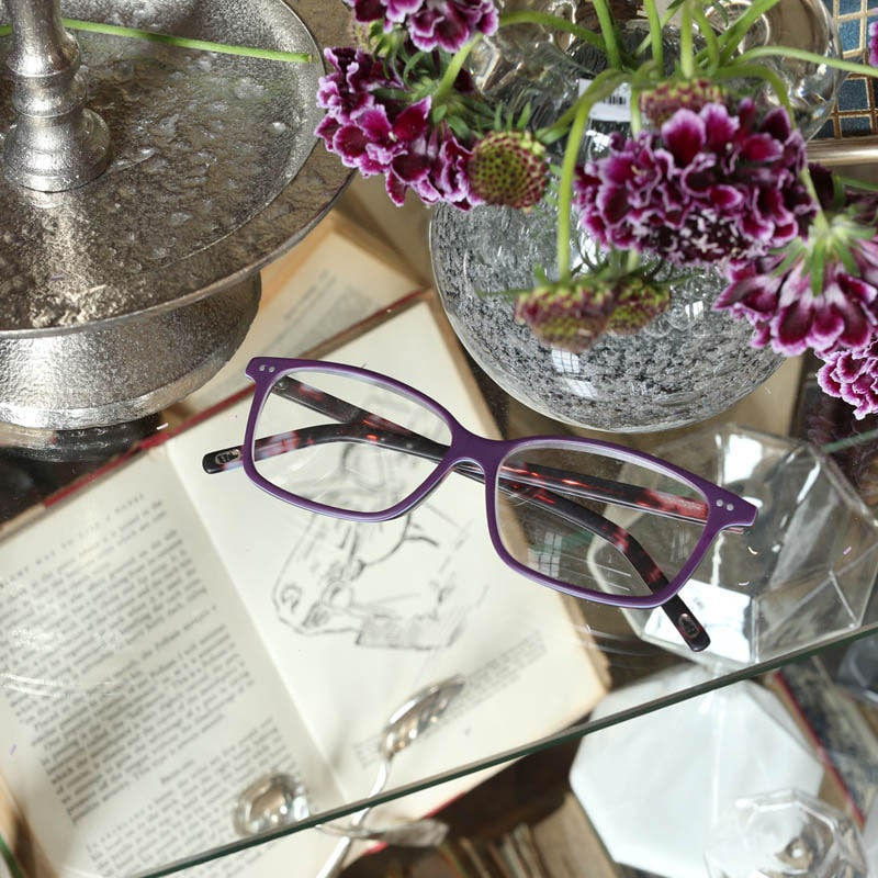 READING GLASSES PURPLE 1.0