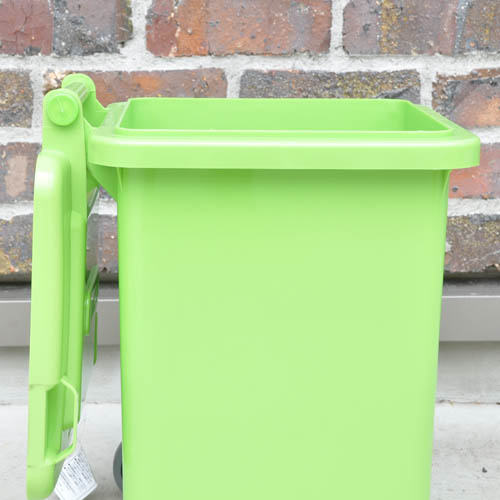 PLASTIC TRASH CAN 18L BLUE