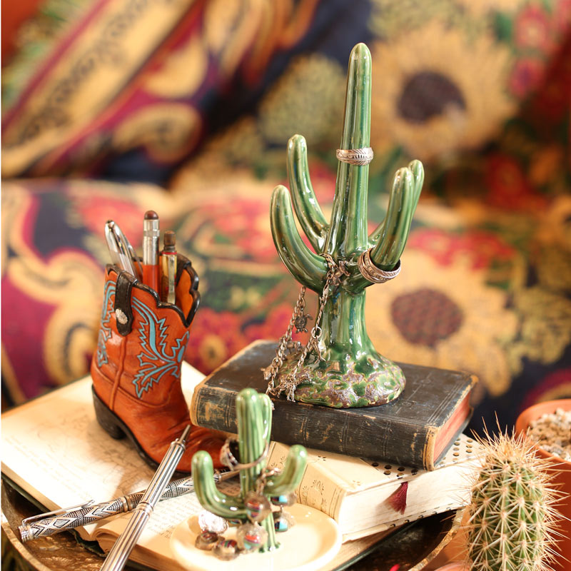 CACTUS RING HOLDER SAGUARO