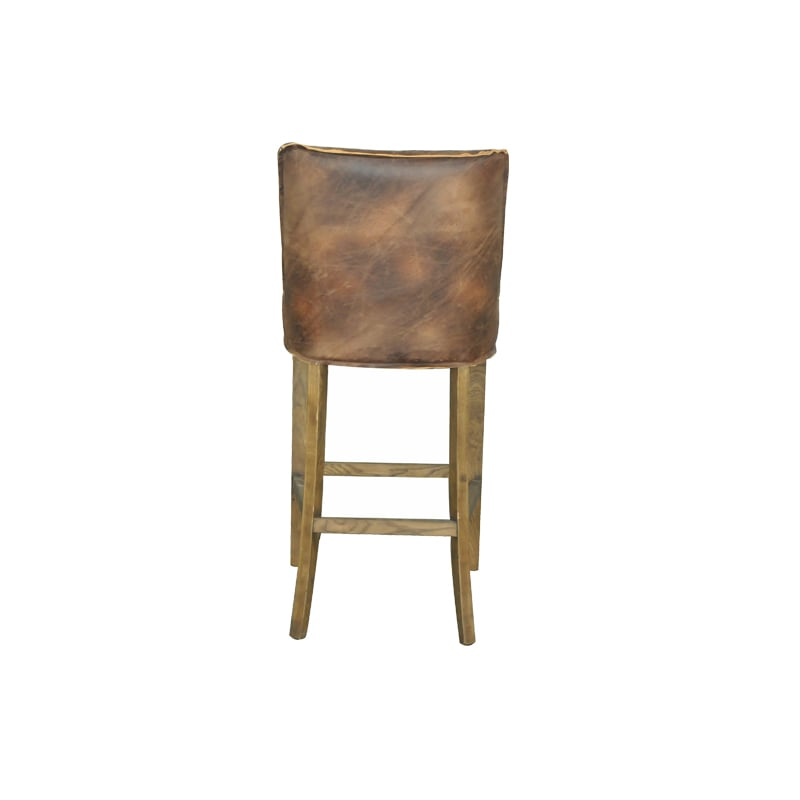 RANDY HIGH CHAIR BROWN