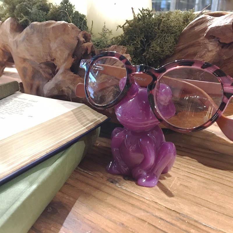 FROGGY GLASSES HOLDER PL