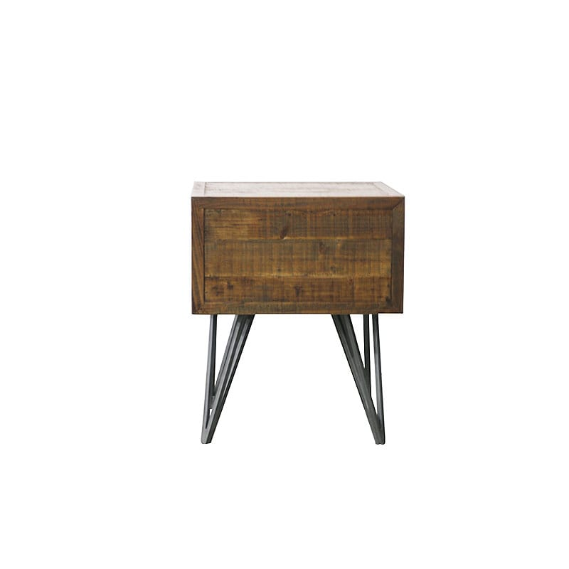 """CRAIG'' FIR SIDE TABLE"