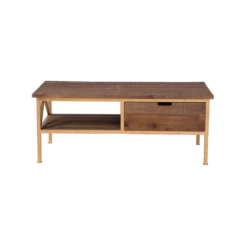"""DARCEY'' PINE COFFEE TABLE"