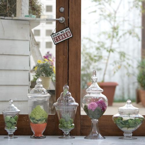 GLASS JAR DECORER