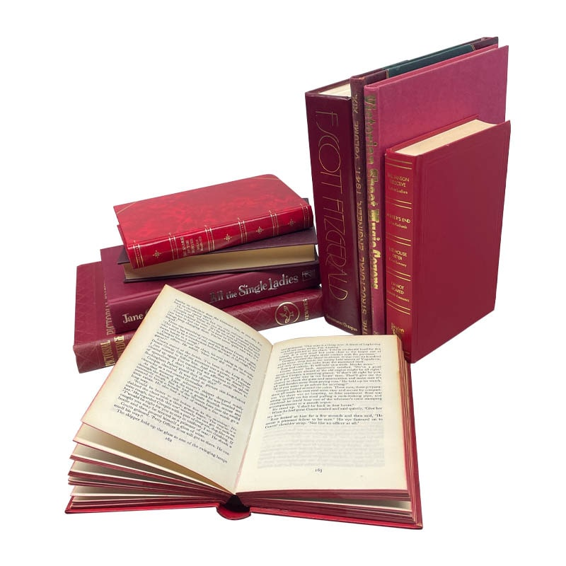 USED BOOK RED-25cm