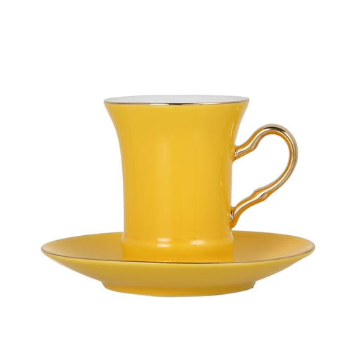 CUP & SAUCER Numelo 2 YEL