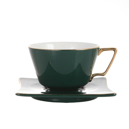 CUP & SAUCER Numelo 3 GRN