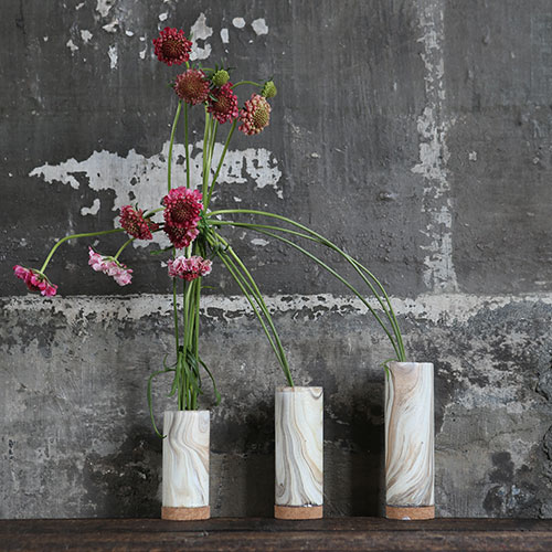 TUBE VASE CHIMNEY FOG M