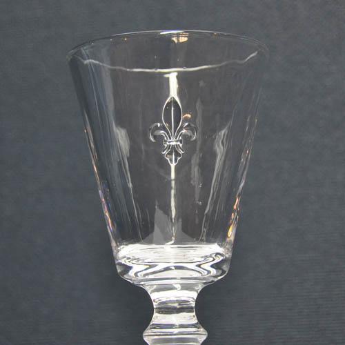 """AQUA GLASS """"FLEUR DE LIS"""""""