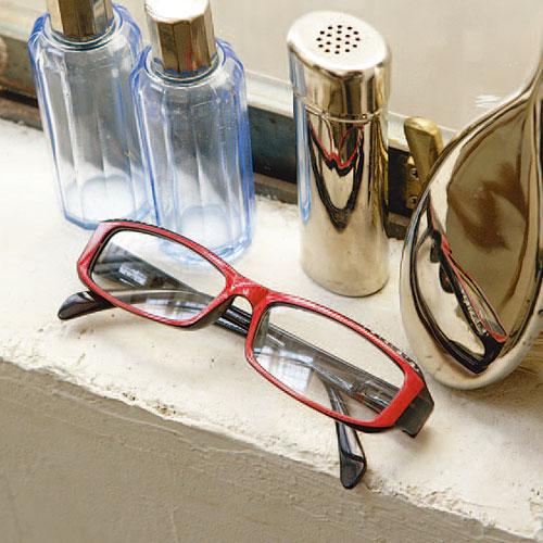 READING GLASSES PURPLE 2.5