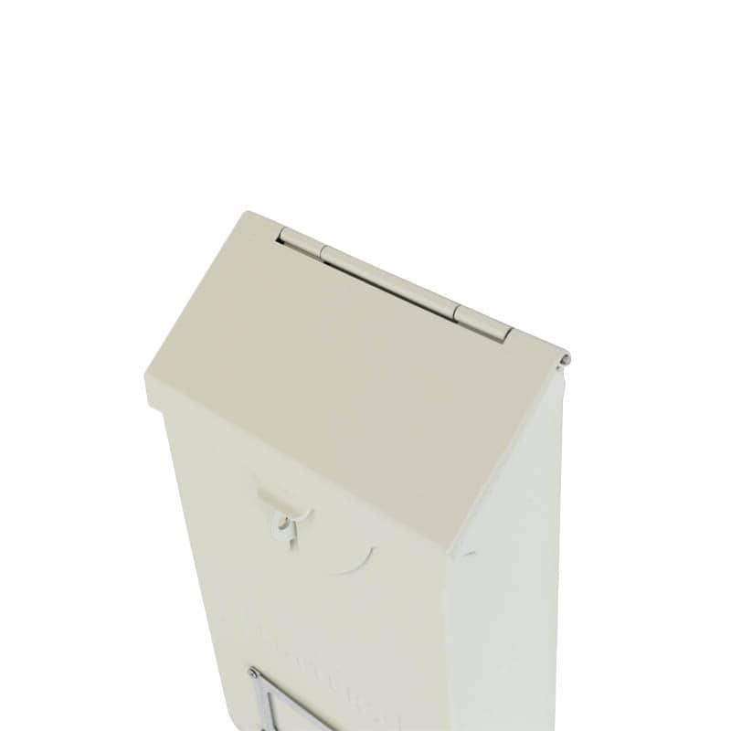 MAIL STORAGE BOX IVORY