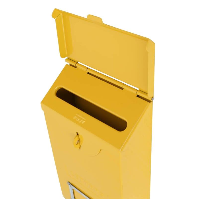 MAIL STORAGE BOX YELLOW