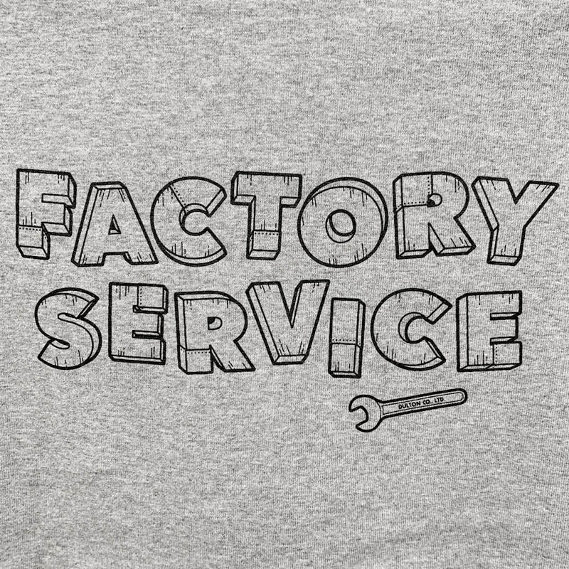 Factory Service T-SHIRTS GRAY L