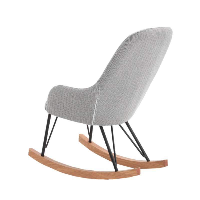 "ROCKING CHAIR S ""HERRINGBONE BLACK"""