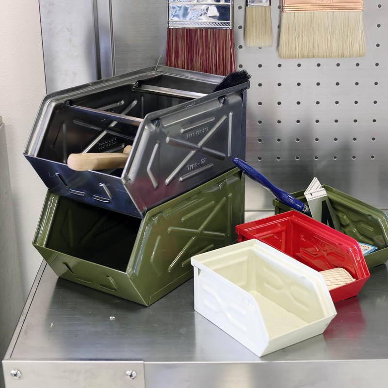 MINI PARTS BOX IVORY