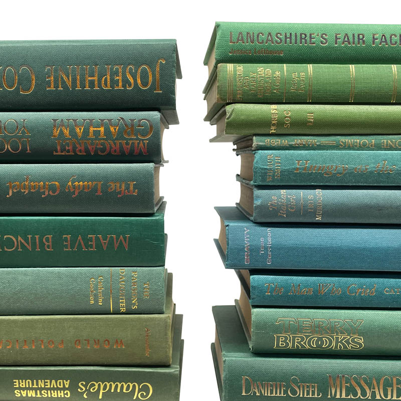 USED BOOK GREEN-50cm